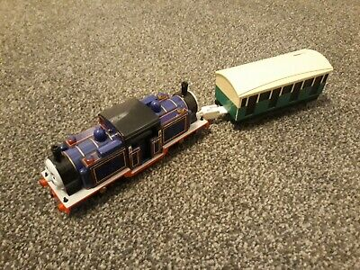 Thomas Trackmaster Mighty Mac Train With Carriage (battery Operated). VERY RARE • 20.99£