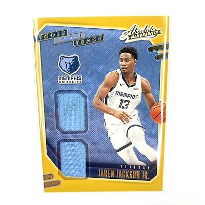 AU104.31 • Buy 2020-2021 Absolute Memorabilia Tools Of The Trade Jaren Jackson Jr Jersey Patch