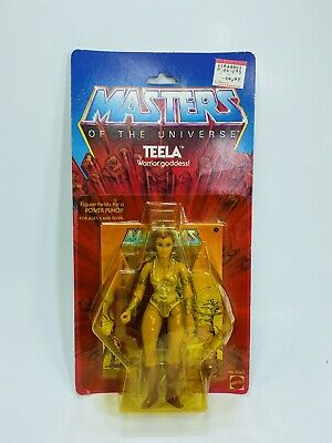 $900 • Buy MOTU Masters Of The Universe TEELA 8 BACK MOC Unopened - RARE!