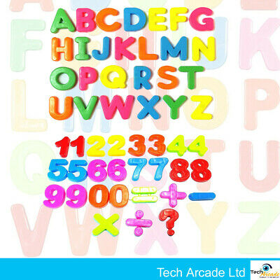 £2.59 • Buy Large Magnetic Letters Alphabet & Numbers Fridge Magnets Toys Kids Learning Tool