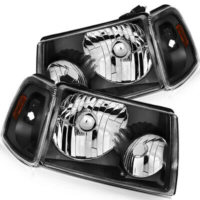 $88.45 • Buy For 2001-2011 Ford Ranger Headlights Assembly Front Driver + Passenger Sides