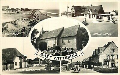 £2.50 • Buy East Wittering Real Photo Postcard 1955