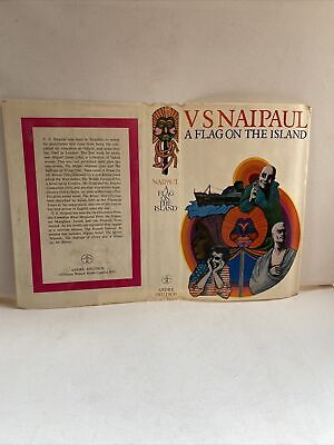 £4.95 • Buy A Flag On The Island  V.s.naipaul  No Book  Dustwrapper Only