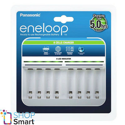 £33.76 • Buy Panasonic Eneloop 8 Cells Charger Bq-cc63 For Aaa Aa Batteries Auto Voltage New