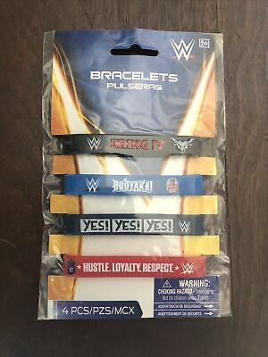 £4.90 • Buy WWE 2014 Party Supplies Bracelets 4 Ct. Party Favors