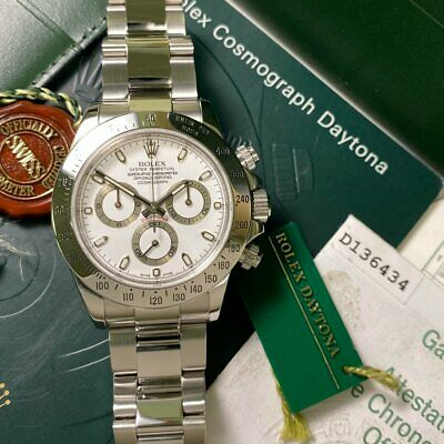 $ CDN34112.67 • Buy Rolex Cosmograph Daytona 116520 White Dial 2005 - PX & Finance Available