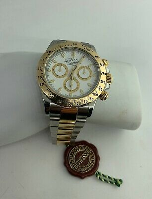 $ CDN25080.63 • Buy Rolex Cosmograph Daytona 116503 Stainless Steel And Gold With White Dial