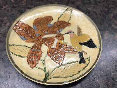 £3 • Buy Brass Enamelled Plate Made In India