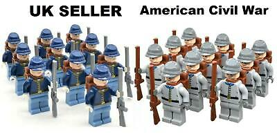 £22.95 • Buy American Civil War Army Minifigure Northern & Confederate Union USA Troops