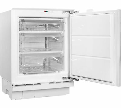 NEW Hotpoint HZ A1.UK 1 Integrated Under Counter Freezer 91L Built In A+ 38db • 234.99£