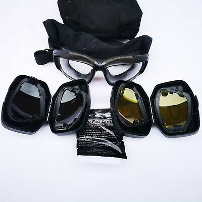 £28.49 • Buy British Army Surplus Issue Ess V12 Safety Goggles