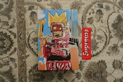 $250 • Buy Medicom Jean-Michel Basquiat 400% & 100% Bearbrick