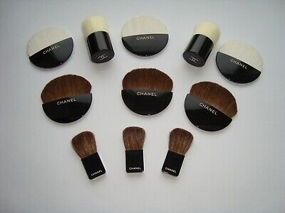 £28.36 • Buy Authentic  CHANEL  Beaute Brushes Set Makeup Tools  For Powder New