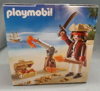 £9.42 • Buy Playmobil Easter Egg 9415 Pirate With Cannon And Honey Easter Ship Island