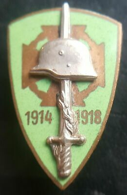 £76.99 • Buy ✚7560✚ Hungarian Kingdom National Front-Line Fighters' Association Badge WW2