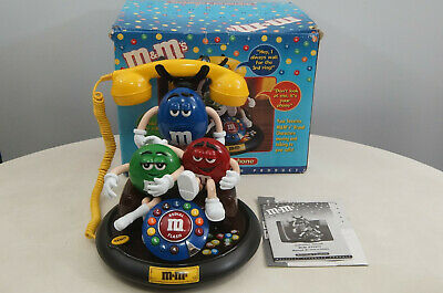 $98 • Buy M&M's Animated Talking Telephone  - Working Motion And Sound!