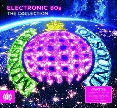 £5.99 • Buy ELECTRONIC 80S THE COLLECTION : MINISTRY OF SOUND 4CDs (NEW/SEALED)