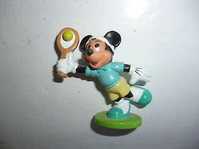 £4.99 • Buy Disney Mickey Character Figure -   Mickey Mouse  Hitting  A Tennis Ball