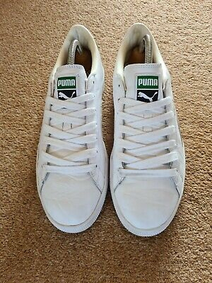 £40 • Buy Puma Basket UK8 Trainers - Casuals Hiphop Bboy Hipster Clyde States Suede