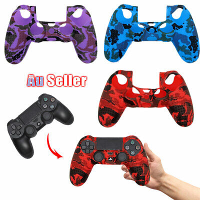 AU10.45 • Buy PS4 Controller Cover Silicone Case For Playstation 4 AU Grip Skin
