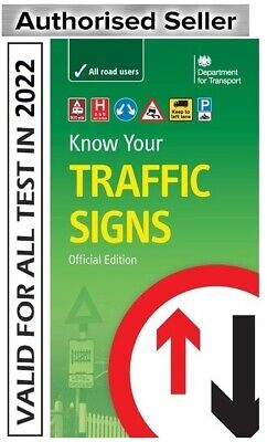 £6.97 • Buy Know Your TRAFFIC Signs Book Official Edition 2021