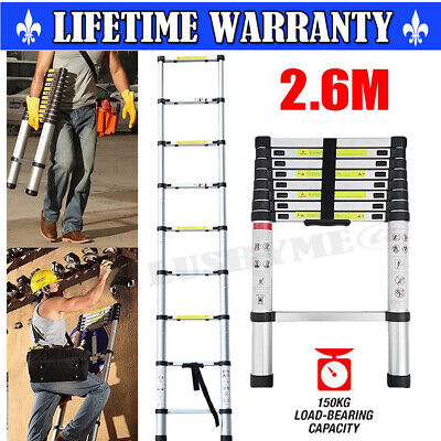 £49.59 • Buy Telescopic Ladder Extendable Step Heavy Duty Multipurpose Laders Accessories