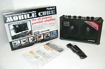 $ CDN99.86 • Buy Roland Mobile Cube Battery-Powered Stereo Guitar Combo Amp - ISSUE SEE NOTES