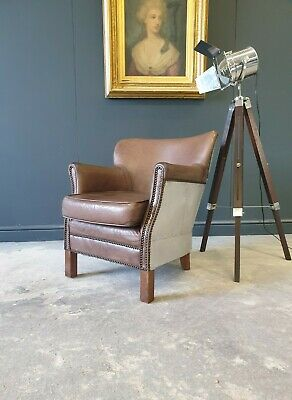 £299 • Buy 106.professor Halo Style Brown Chesterfield Armchair Delivery Avail 🚚 🇬🇧