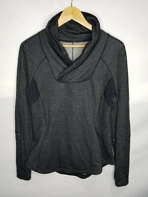 $ CDN30 • Buy Lululemon Run Pitter Patter Pullover Sweater Size 8 Medium Women's Black