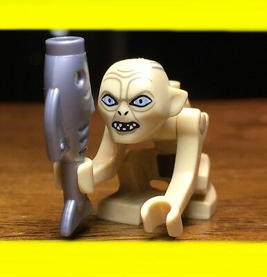 £5.75 • Buy LEGO THE HOBBIT LORD OF THE RINGS GOLLUM W/ FISH GENUINE AUTHENTIC MINIFIGURE