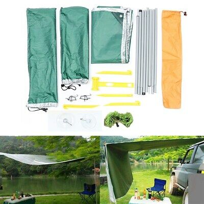 AU113.73 • Buy 2.8x1.8M Car Side Awning Rooftop Tent Sunshade Outdoor Camping Travel Tent