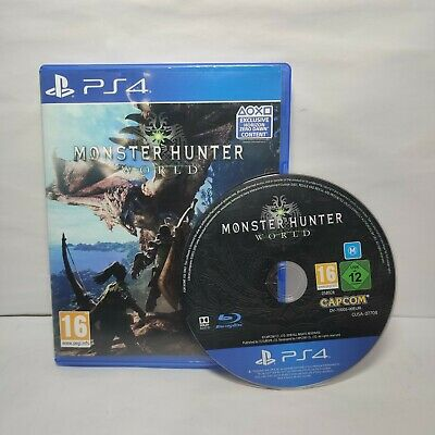 AU21.62 • Buy Monster Hunter World PS4 Playstation 4 *FREE UK POSTAGE**