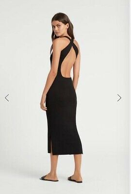 AU199 • Buy Sir The Label Marcelle Open Back Midi Dress - Sz 0