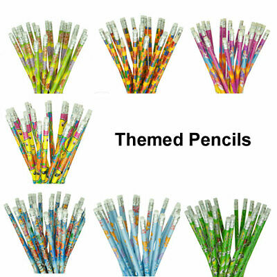 £3.79 • Buy Kids Themed Pencils, Party Bag Fillers, Childrens School Stationery, Girls Boys