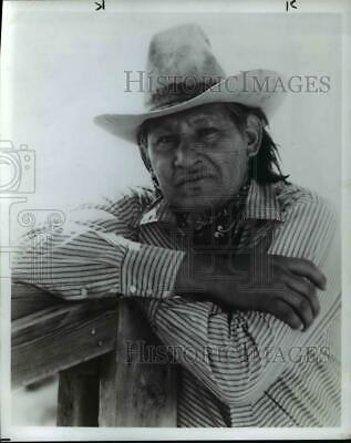$ CDN24.17 • Buy 1987 Press Photo Will Sampson Of One Flew Over The Cuckoo's Nest - Orp24674