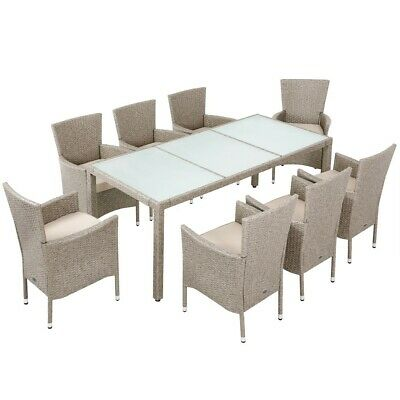 Rattan Dining Table,patio,outdoor,conservatory Garden Furniture Set 8 Seater  • 1,099.99£