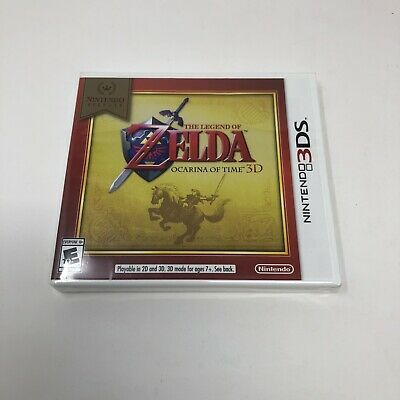 AU43.25 • Buy The Legend Of Zelda Ocarina Of Time 64 3D Nintendo Selects 3DS 2DS XL New Sealed
