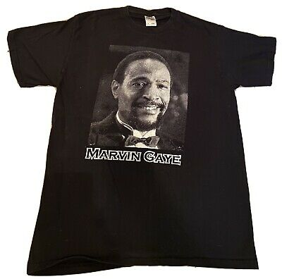 £56.64 • Buy Vintage 90's Marvin Gaye Music Heavy Fruit Of The Loom Tee Size Large T-shirt