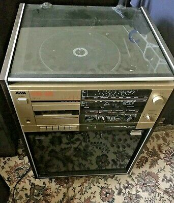 AU50 • Buy AWA TURNTABLE Record Player / STEREO MUSIC CENTRE SM-23