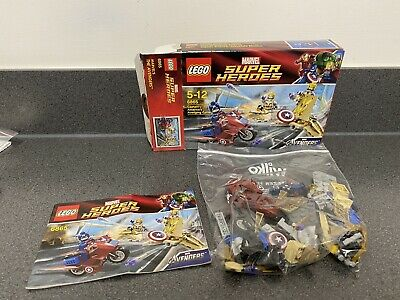LEGO Marvel Super Heroes - 6865 - Captain America's Avenging Cycle - Inc Minifig • 15£