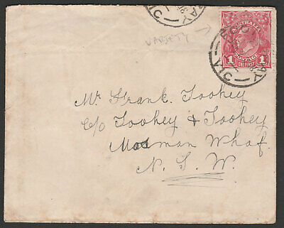 AU9.49 • Buy KGV COVER - 1d RED - VARIETY BW72(3)g ?? - FINE USED