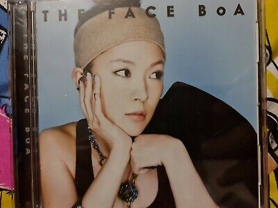 BoA - The Face Jpop Kpop Album CD + DVD  • 6£
