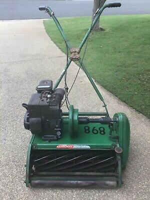 AU500 • Buy Reel Lawn Mower. Ransome Auto-Certes. Green In Colour. Good Condition.