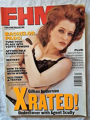 AU8.98 • Buy FHM Issue 75 April 1996 Gillian Anderson X Rated