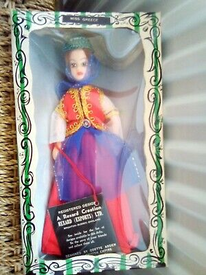 £8.99 • Buy Vintage Miss Greece Rexard Costume Doll