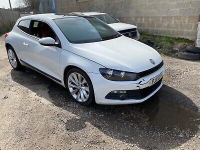 Volkswagen Scirocco Tdi Cat N Salvage Spares Or Repair Damaged  • 2,150£
