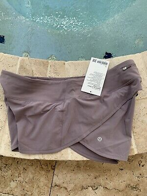 "$ CDN87.86 • Buy Lululemon Speed Up Shorts Violet Verbena Size 12, 2.5"" Inseam Sold Out BNWT"