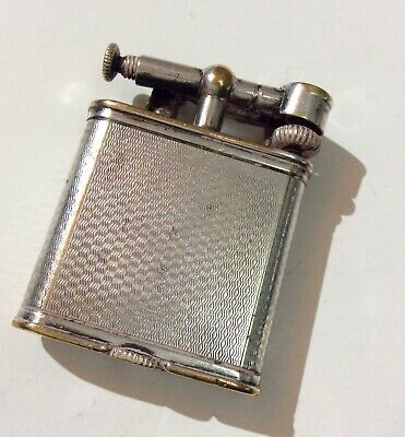 £199 • Buy Dunhill Vintage Liftarm Lighter - Silver Plated