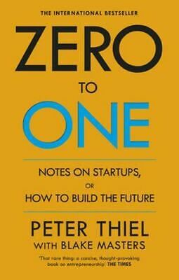 AU25.25 • Buy NEW Zero To One By Peter Thiel Paperback Free Shipping