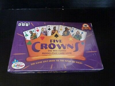 AU15.72 • Buy New 5 Five Crowns Card Game (makers Of Set) 1996 Sealed